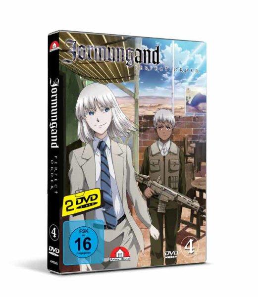 Jormungand 4 (2 DVDs - 6 Episoden)