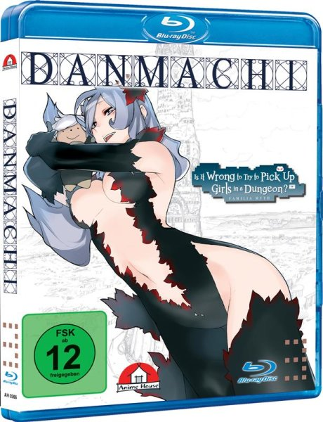 Danmachi - Familia Myth I - Blu-ray Vol. 3