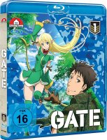 Gate I - Vol 1 bis 4 Bluray Bundle