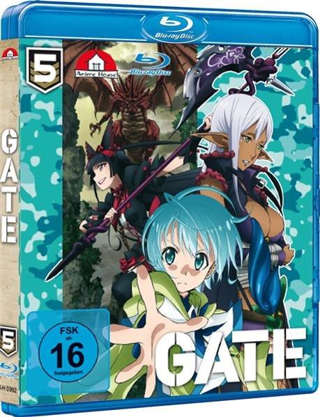 Gate II - Vol 5 bis 8 Bluray Bundle