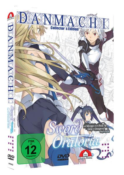 Danmachi - Sword Oratoria Vol 3 DVD - Collectors Edition