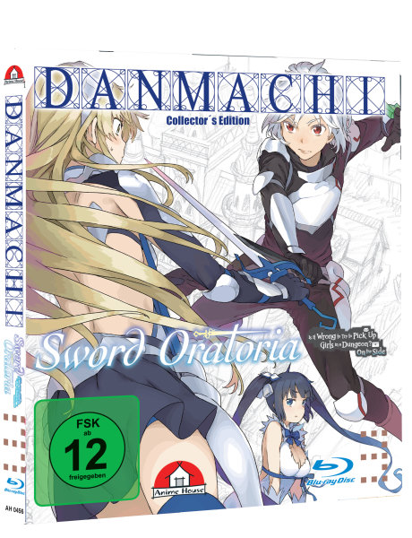 Danmachi - Sword Oratoria Blu-ray - Bundle mit Schuber - Collectors Edition