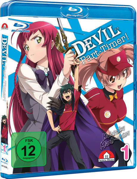 The Devil is a Part-Timer Take Away-Box Blu-ray