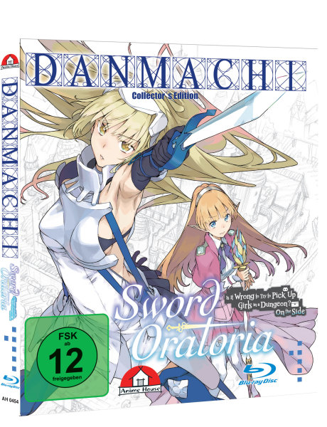 Danmachi - Sword Oratoria Blu-ray - Bundle mit Schuber und Notebooktasche - Collectors  Edition
