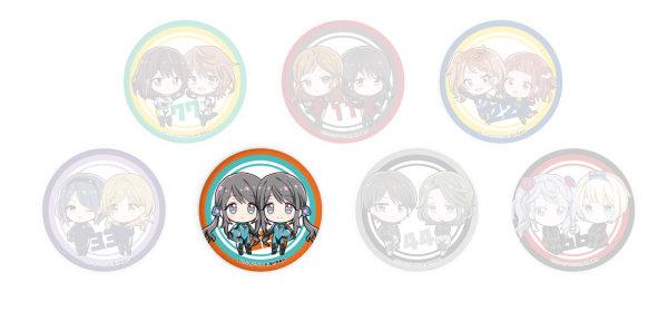 Button TwoCar - 55 Maria & Yuria