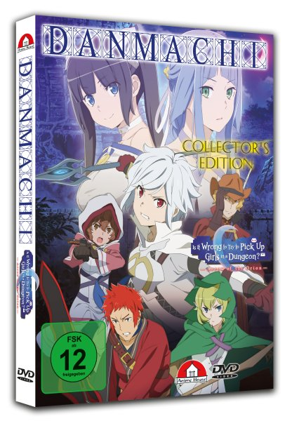 Danmachi - The Movie: Arrow of the Orion DVD CE