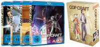 Cop Craft BluRay Vol. 1-4 Bundle mit Hardcover-Schuber