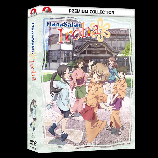 Hanasaku Iroha TV-Serie - Box 2 - DVD