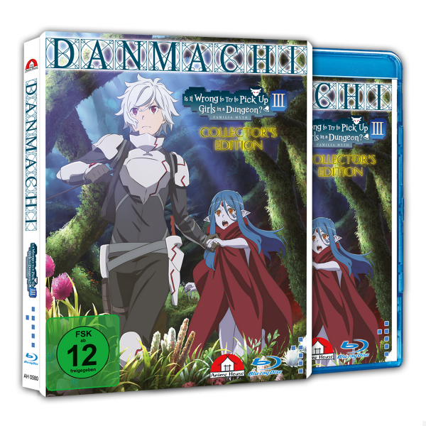 Danmachi - Familia Myth III Blu-ray  CE Vol. 1