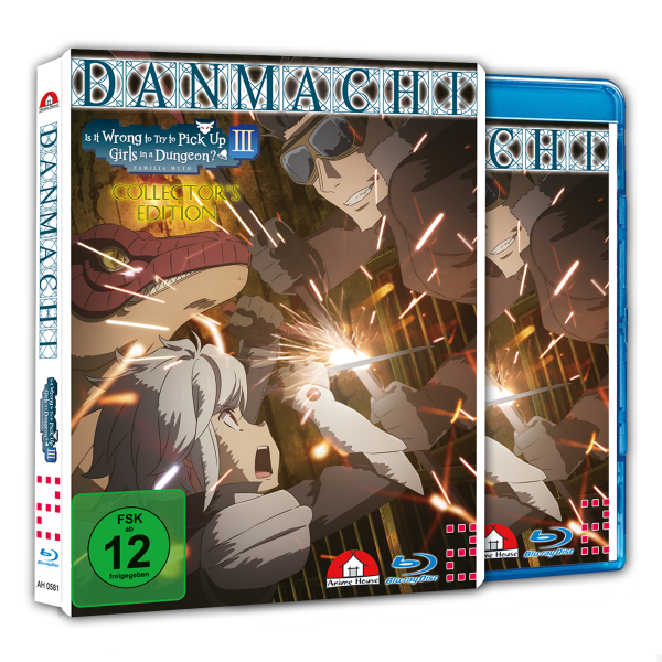 Danmachi - Familia Myth III Blu-ray  CE Vol. 2