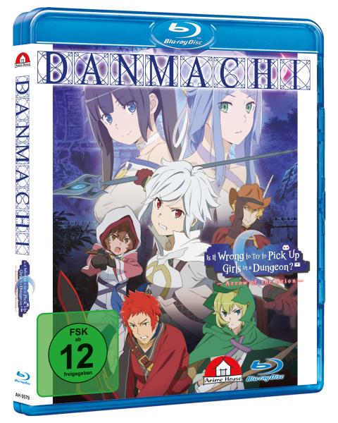 Danmachi - The Movie: Arrow of the Orion Blu-ray - Standard