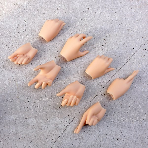 Option Part – hand pack 4 (cinnamon)