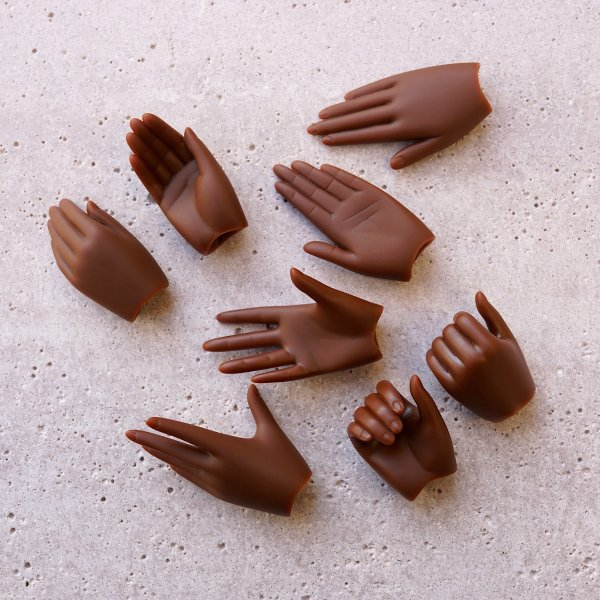Option Part – hand pack 2 (cocoa)