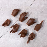 Option Part – hand pack 4 (cocoa)