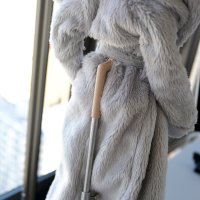 Top – Fluffy Hooded Gown