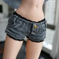 Inner – Lace Shorts (Black)