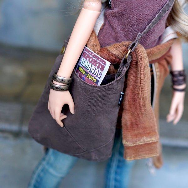 Misc – Scavenger Satchel Bag (Charcoal)
