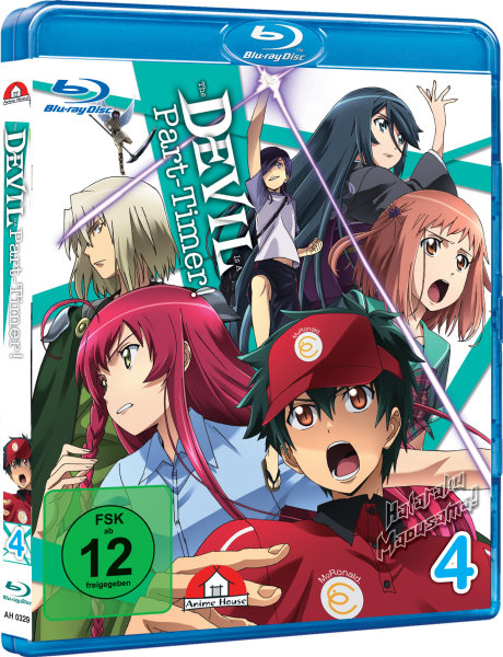 The Devil is a Part-Timer 4 Blu-ray